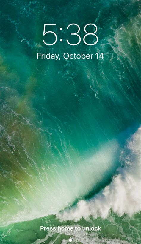 change  iphone lock screen wallpaper  dave taylor
