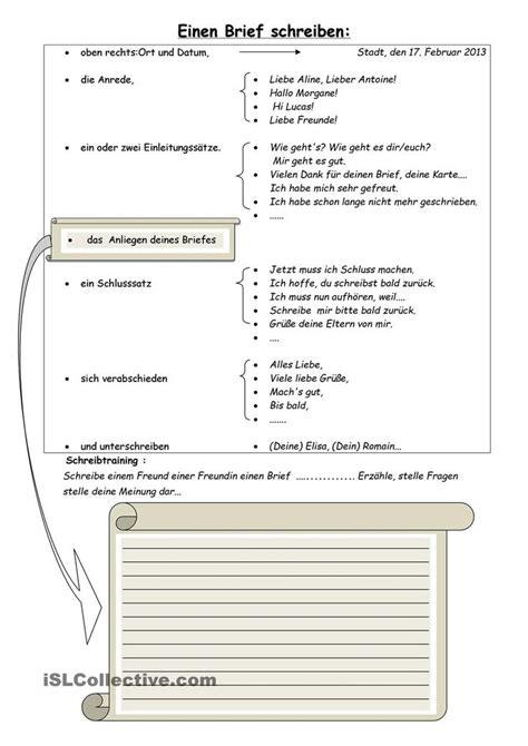 Formeller Brief Beispiel 22 best images about briefe p 229 l 228 r dig tyska