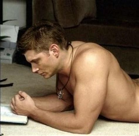 supernatural images dean winchester on floor topless