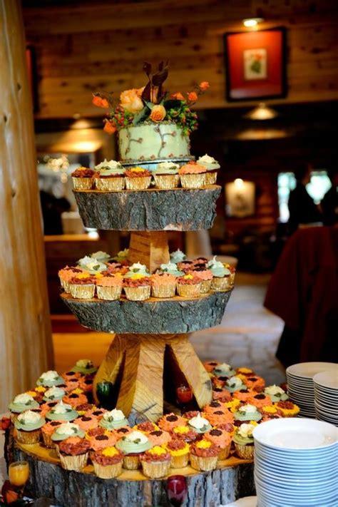 fall wedding cupcake ideas roses rings