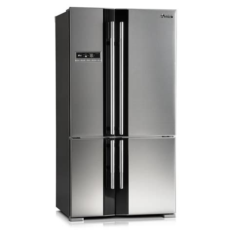 mitsubishi electric refrigerator mr l710eg st a french door 710l fridge mitsubishi