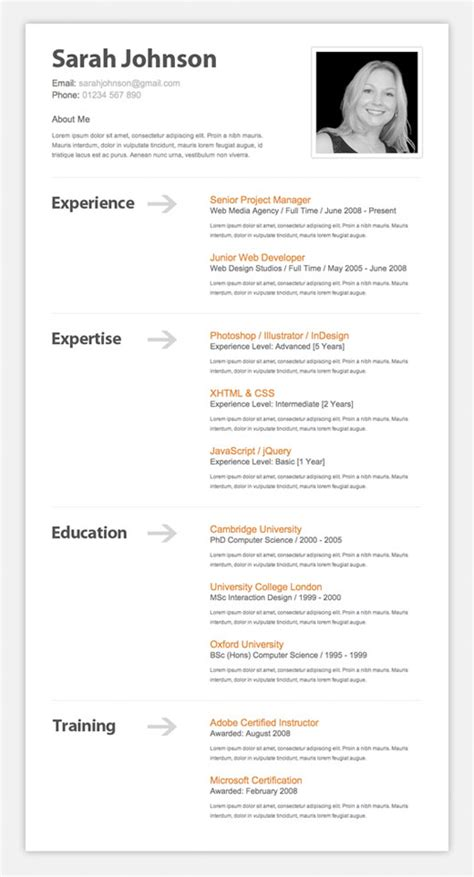 Best Resume Font Latex by