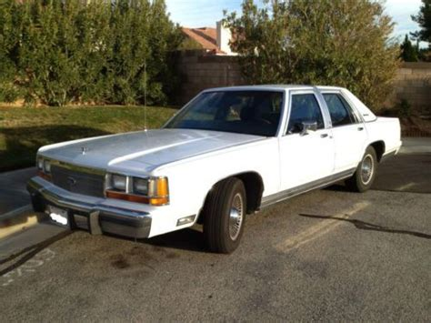 automobile air conditioning repair 1989 ford ltd crown victoria instrument cluster sell used 1989 ford ltd crown victoria lx sedan 4 door 5 0l in lancaster california united states