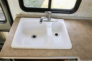 how to remove your rv kitchen sink mountainmodernlife
