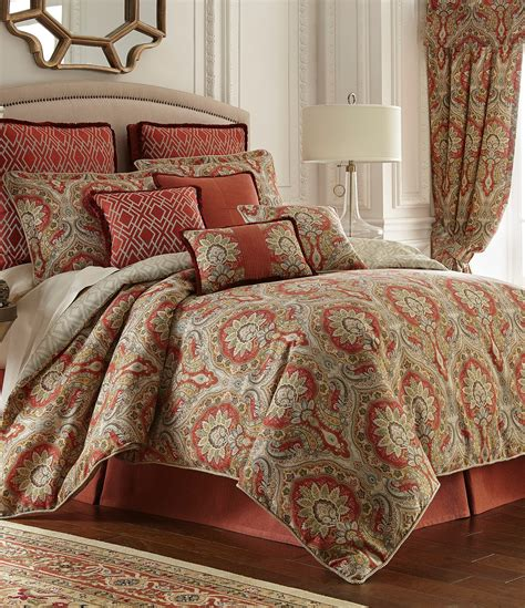 dillards comforters clearance rose tree harrogate paisley damask geometric diamond