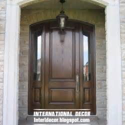 12 classic wood doors with glass sides design ideas home