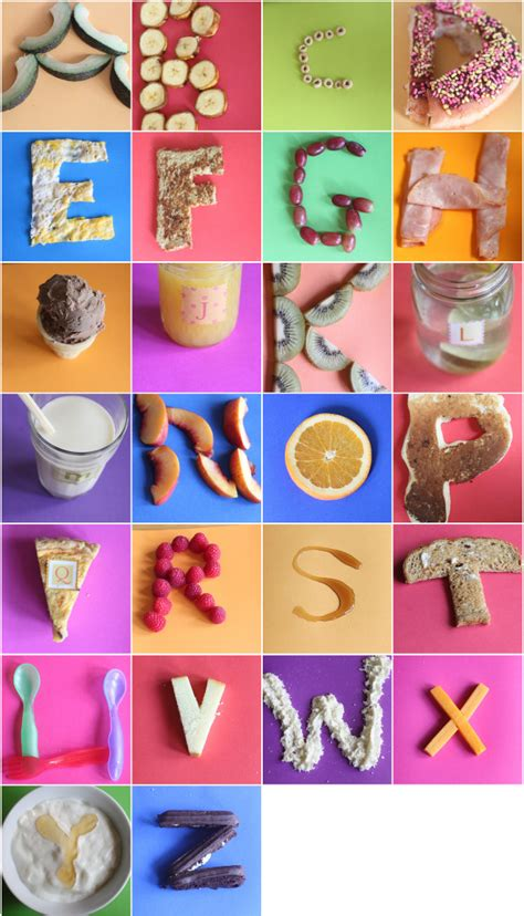 cuisine abc abc alphabet hip hip hooray