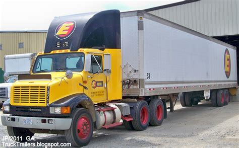 semi truck companies truck trailer transport express freight logistic diesel