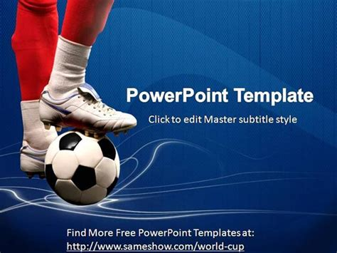 free football powerpoint templates powerpoint templates free soccer choice image powerpoint
