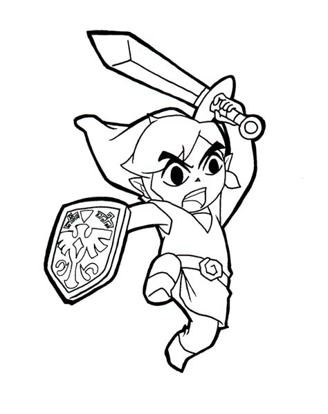 free printable zelda coloring pages legend of zelda coloring pages coloringsuite com