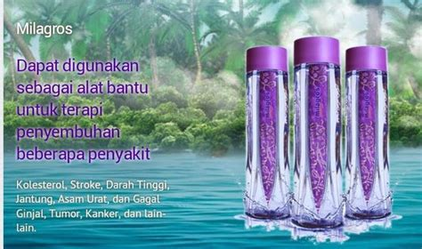 Obat Herbal Milagros jual milagros miracle water air alkali milagros herbal