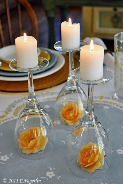 Candles Affairsbybrittany Simple Candle Centerpieces