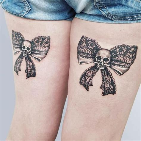 bow tattoos on back of thighs bow tattoos designs and meanings
