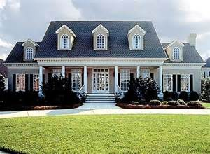 southern colonial house plans spacious southern colonial