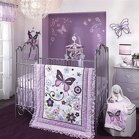 lambs and ivy curtains lambs ivy 174 butterfly lane crib bedding collection bed