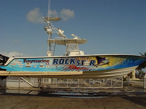 fishing boat vinyl graphics florida vehicle wraps car wrapping vinyl graphics