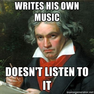 Beethoven Meme - funny reviving classical music