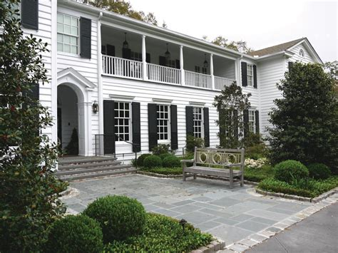 white siding houses with black shutters photo page hgtv