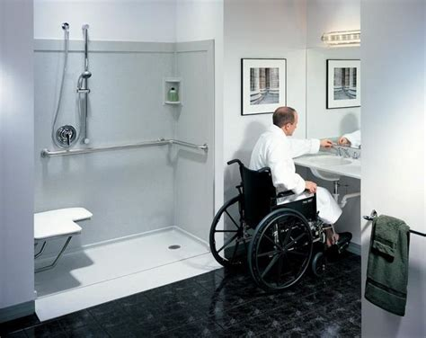 disabled bathroom design 17 best ideas about roll in showers on