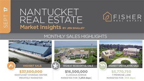 top 10 real estate markets 2017 september 2017 nantucket real estate market insights from