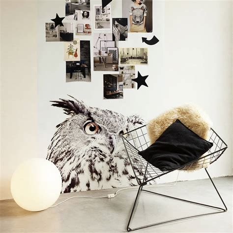 Magnetische Tapete by Owl Print Magnetic Wallpaper By Guild