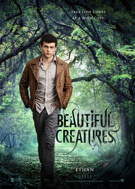 beautiful creatures riddick stoker and beautiful creatures posters collider
