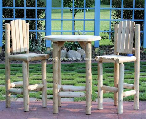 outdoor log furniture pdf diy rustic log outdoor furniture diy simple bar diywoodplans