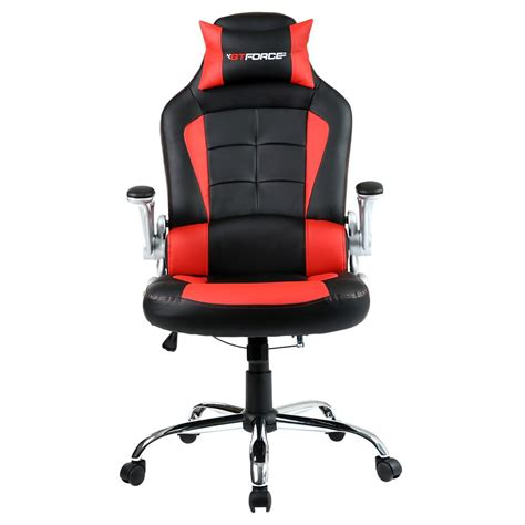 racing gaming desk chair gtforce blaze reclining leather sports racing office desk