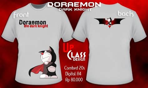 Kaos Doraemon Distro kaos sablon distro quot up class quot doraemon quot the quot