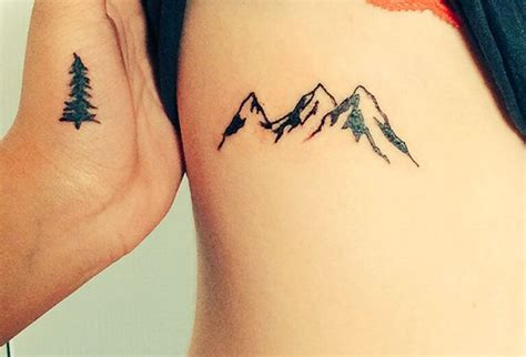simple mountain tattoo 50 mountain tattoos tattoofanblog