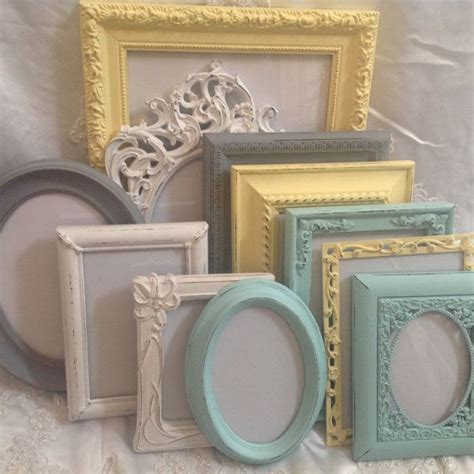1000 ideas about shabby chic picture frames on pinterest shabby chic photo frames shabby