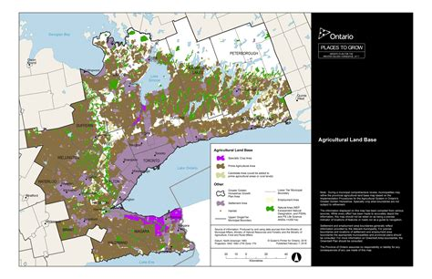 gis program background ontario county agricultural system for the greater golden horseshoe ggh