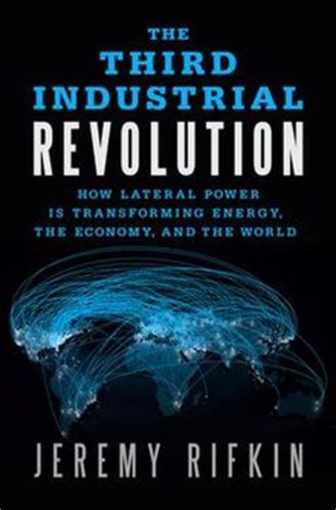 revolution books the third industrial revolution