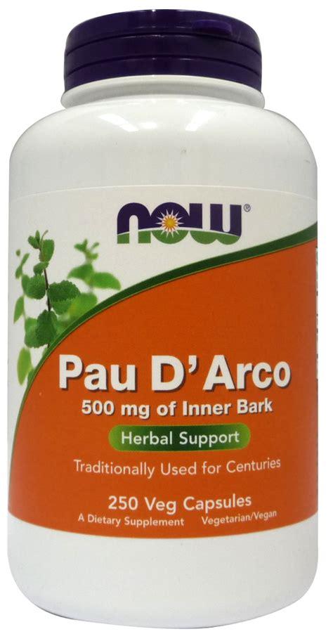 Pau D Arco Detox by Now Foods Pau D Arco Bodybuilding And Sports Supplements