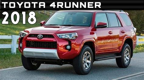 2018 toyota 4runner review rendered price specs release
