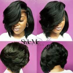 layered bob sew in hairstyles for black for 25 best ideas about black hairstyles on pinterest