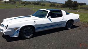 Used Cars Brisbane Trade In Chevrolet Camaro Z28 1980 350 Auto T Tops May Consider