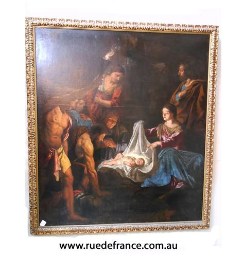 ANTIQUE ITALIAN OLD MASTER PAINTING ? 17th CENTURY   Rue