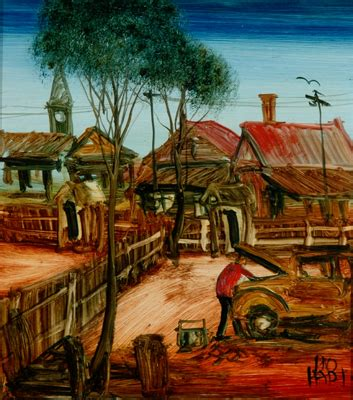 backyard mechanic paintings kevin charles pro hart page 125