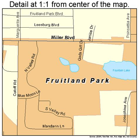 map of fruitland park florida fruitland park florida map 1224975