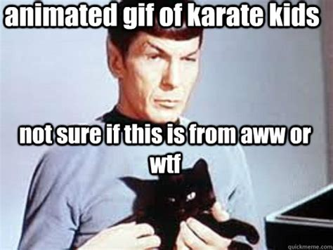 Animated Meme - animated gif of karate kids not sure if this is from aww