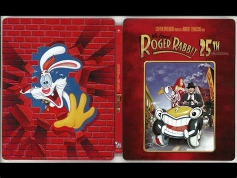 who framed roger rabbit blu ray who framed roger rabbit blu ray steelbook unboxing youtube