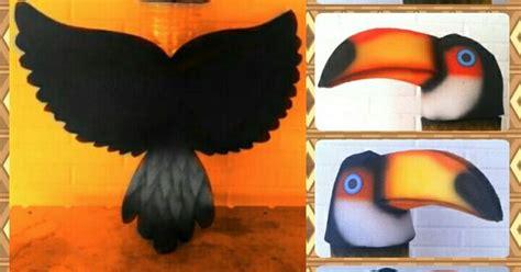 mascaras del tucan tuc 225 n disfraz infantil carnaval2014