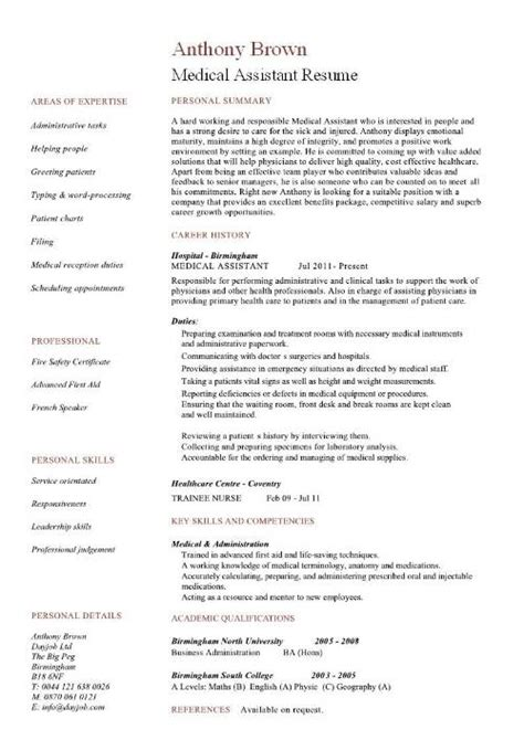 assistant resume templates free assistant sle resume best professional
