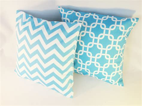 Turquoise Blue Pillows by Unavailable Listing On Etsy