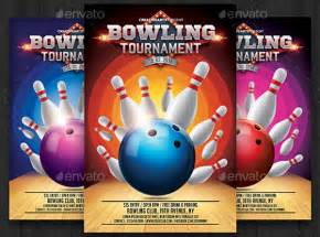 free bowling flyer template 7 bowling flyers design templates free