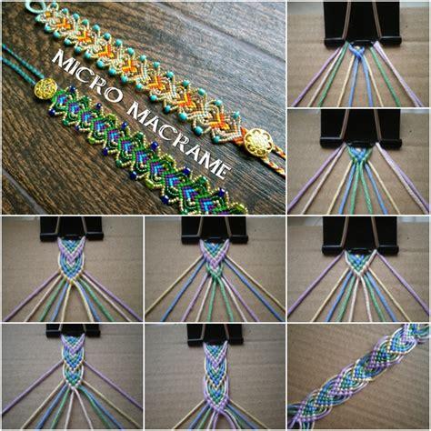Braceletbook diy leaf friendship bracelet tutorial