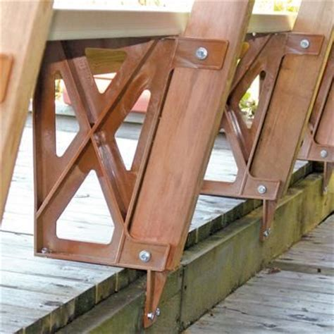home depot deck installation peak plastic bench bracket in redwood 2602 home depot canada to redesign the deck remove