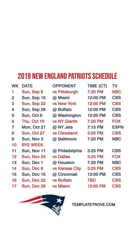 england patriots lock screen schedule  iphone