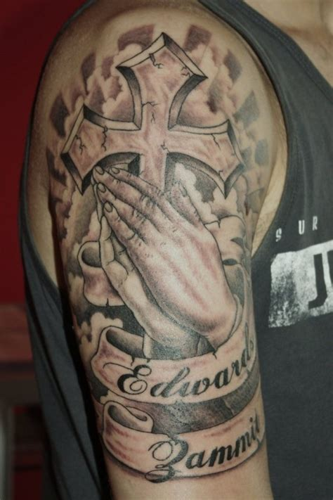 religious half sleeve tattoos for men praying designs for 2011 yusrablog